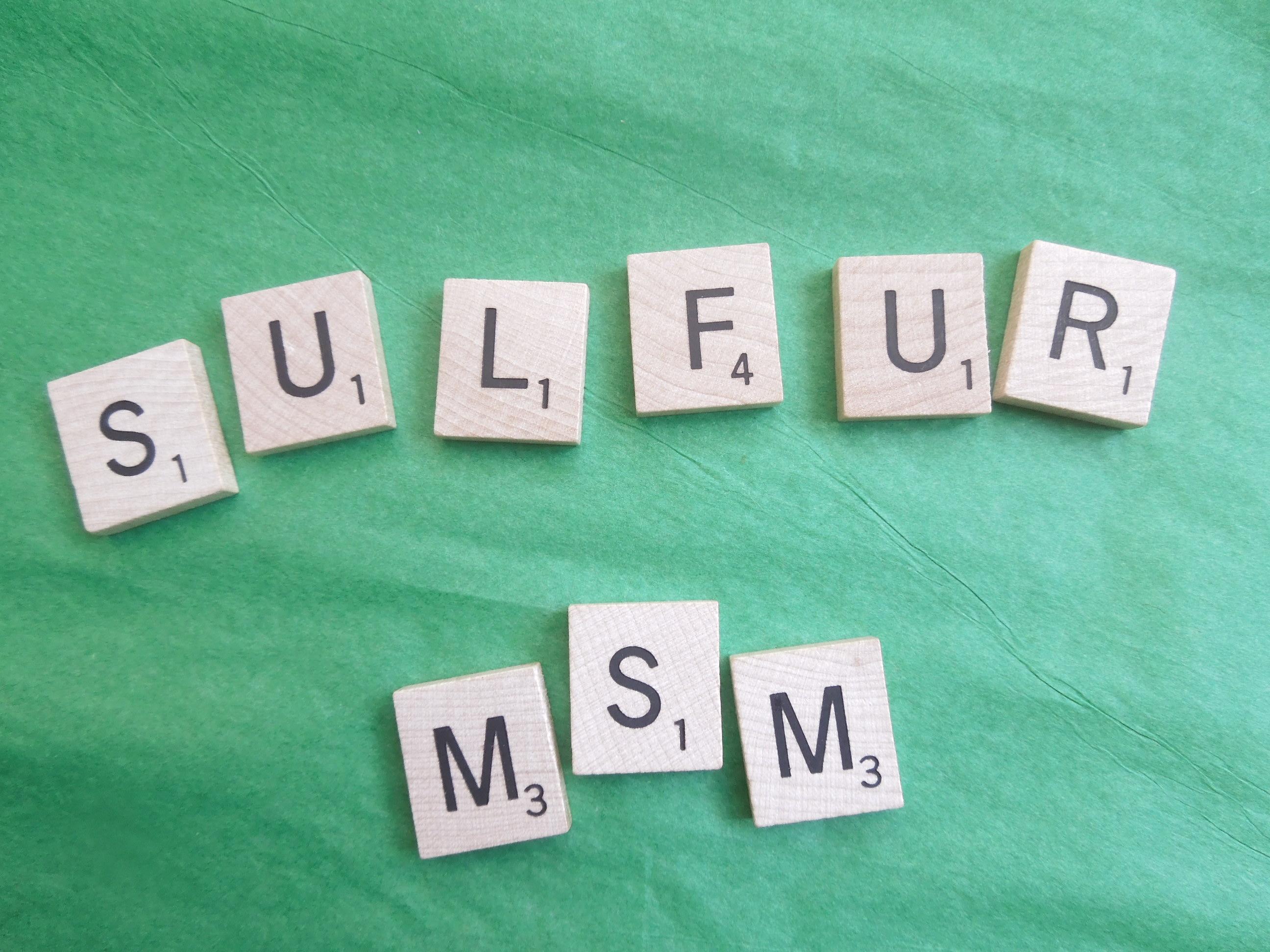 MSM Sulfur