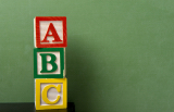 building blocks, alphabet blocks