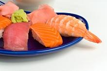 seafood, salmon, shrimp