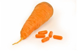 carrot and pills